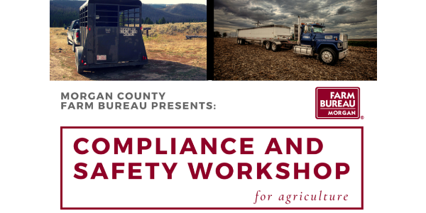 Topics that will be covered include safe transporting practices, truck inspection demonstration and a question and answer session. (Courtesy of Colorado Farm Bureau)
