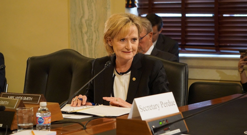 Senator Hyde-Smith joins Ag Committee