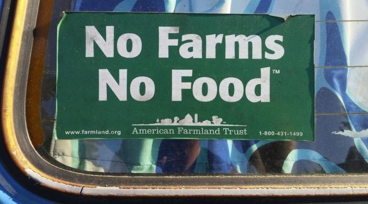No farm, no food, no future
