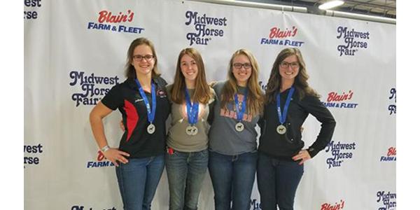 UW-River Falls horse judging team excels