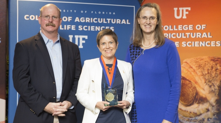 IFAS/CALS faculty earn top awards from UF