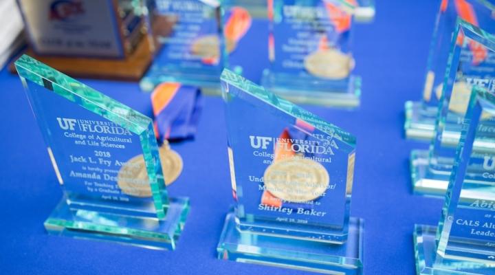 UF CALS honors students at awards banquet