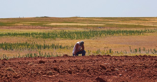 Western Oklahoma in exceptional drought