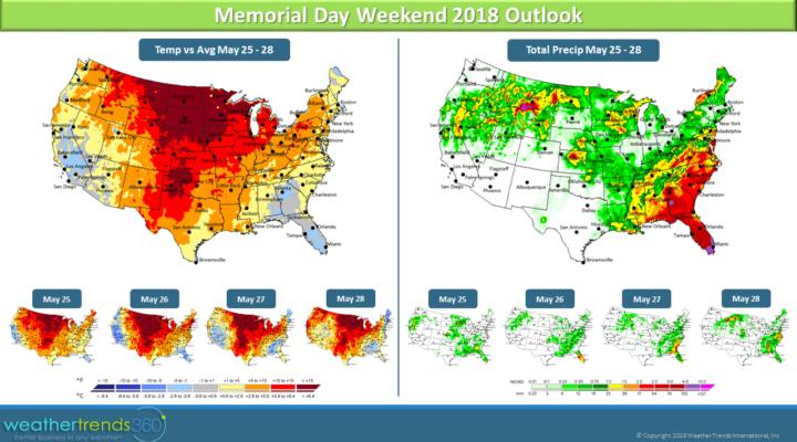 Memorial Day weekend outlook
