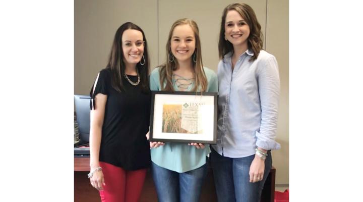 Students awarded Texas Farm Credit scholarships