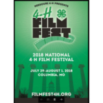 Youth from across the nation go on location to Columbia, Mo., this summer for FilmFest 4-H, the national 4-H film festival. (Courtesy of University of Missouri Extension)