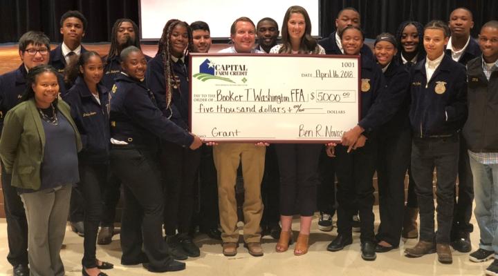 Capital Farm Credit awards community grant