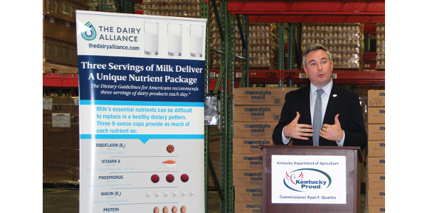 Grant makes dairy products available to Ky. families