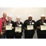 Montgomery County High School's 4-H culinary team was runner-up in the first Southeast Region Junior Chef competition on May 10 in Louisville. (Kentucky Department of Agriculture photo)
