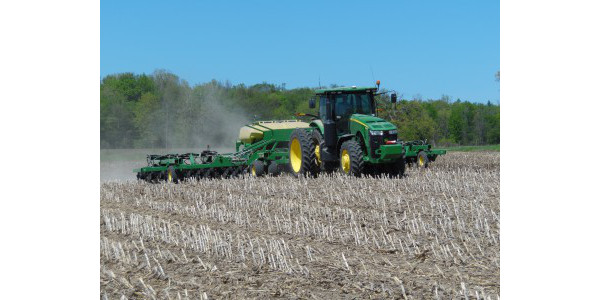 It seems like this is a good time to remember that 2016 was also a challenging planting season, yet we produced record soybean yields in the state. (Photo by Mike Staton, MSU Extension)