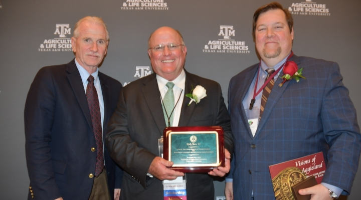 Cleere, Bracher, Winters honored by Texas A&M