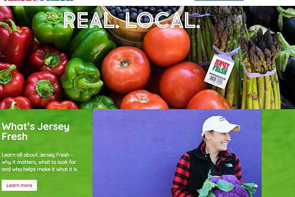 NJDA debuts new Jersey Fresh website