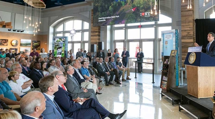 Grand opening of Finger Lakes Welcome Center