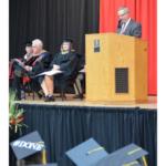 Sen. Dan Hughes at NCTA graduation. (Courtesy of NCTA)
