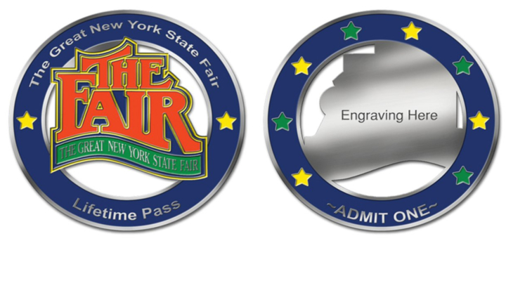 Lifetime admission passes available for NYS Fair