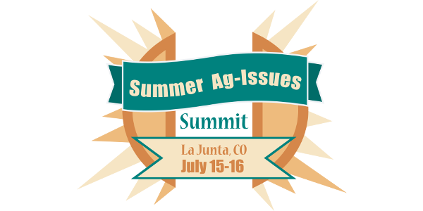 The Summer Ag-Issues Summit is right around the corner!