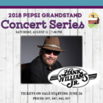 Hank Williams, Jr. will perform on the Pepsi Grandstand Stage at 7:30 p.m. on Saturday, August 11. (Courtesy of Missouri State Fair)