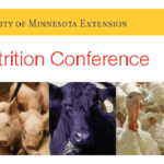 The Minnesota Nutrition Conference is the Upper Midwest's premier forum for communicating leading edge, research-based information to advance nutrition and nutritional management of beef, dairy, equine, poultry and swine. (Courtesy of University of Minnesota)