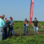 Amit Jhala, weed management specialist with Nebraska Extension, speaks during the 2017 Weed Management and Cover Crops Field Day. The 2018 event is 8 a.m. to 3 p.m. June 27 at the South Central Agricultural Laboratory near Clay Center. (Courtesy of Nebraska Extension)