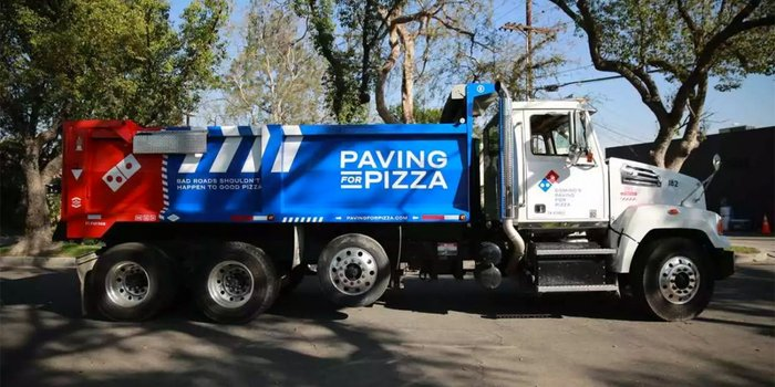 Need a pothole fixed? Time to order a pizza!
