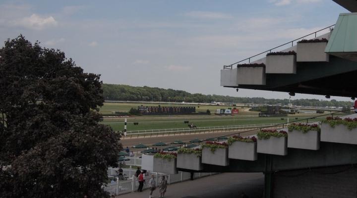 Queen Elizabeth's horse wins Belmont