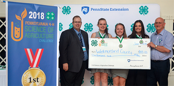 4-H youth compete at ag science challenge
