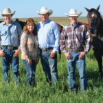 This weekend, South Dakota Farmers Union fed hundreds of South Dakota families who gathered in Belle Fourche for the South Dakota State High School Rodeo Finals. Among them is the Pirrung family of Hartford; Payton, 16, Cathy, Dan and Braden, 20. Payton, qualified in team roping - an event he and his brother, Braden, and dad, Dan, have been competing in since he was 6. He also qualified in tie down. (Photo courtesy of Lura Roti)