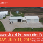 Farmers and the public are invited to attend Iowa State University (ISU) Extension and Outreach's Annual Northwest Research and Demonstration Farm Field Day on Wednesday, July 11 at the Northwest Iowa Research and Demonstration Farm near Sutherland. (Screenshot from flyer)