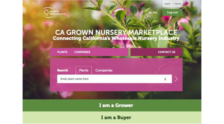 Individuals Can Visit Explore Or Sign Up For The Ca Grown Nursery Marketplace At Www Cagrownnuserymarketplace Courtesy Photo