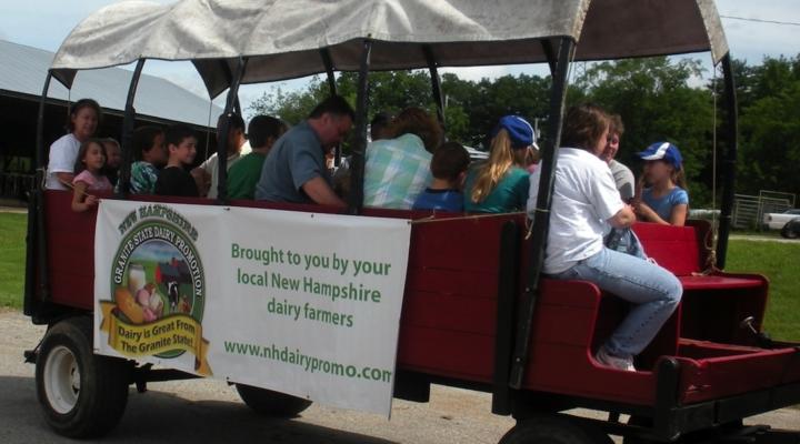 'Meet Your Milk' at UNH Open Barn, June 23