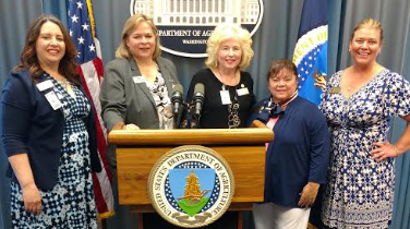 Women in agriculture head to Washington D.C.