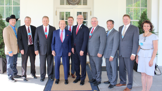 USCA President visits White House to talk trade