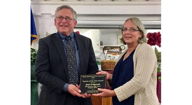 Maine Ag in the Classroom Teacher of the Year