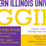 """The Western Illinois University School of Agriculture """"Aggies"""" organization will host a social event Friday, Aug. 10 at the Illinois State Fair in Springfield on the Director's Lawn."""