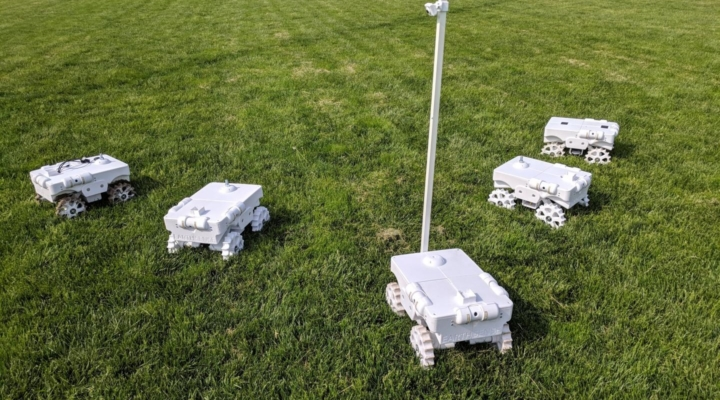 Crop-counting robot earns top recognition