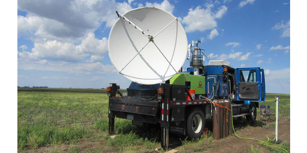 A Doppler on Wheel collects data. (Courtesy of University of Nebraska-Lincoln)