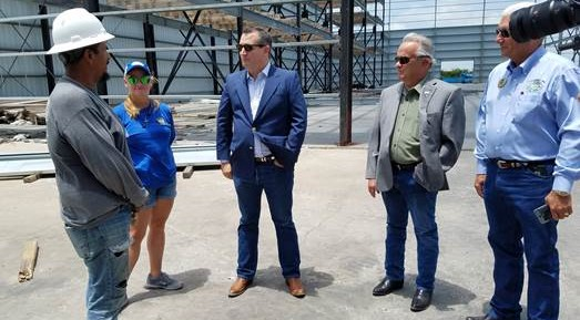 Sen. Cruz briefed on progress in S. Texas' recovery