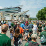 More than 20,000 people showed up for the 2017 Community Open House when Canvas Stadium celebrated its official opening. The 2018 event is set for Aug. 4. (Courtesy of Colorado State University)