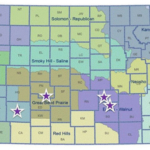Kansas State University and the Kansas Water Office, along with several Kansas farmers are hosting Water Technology Farm Field Days in numerous locations in August. (Courtesy of K-State Research and Extension)