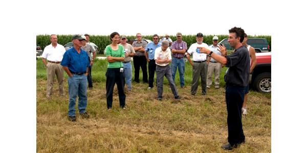 Visit organic research farm Aug. 15