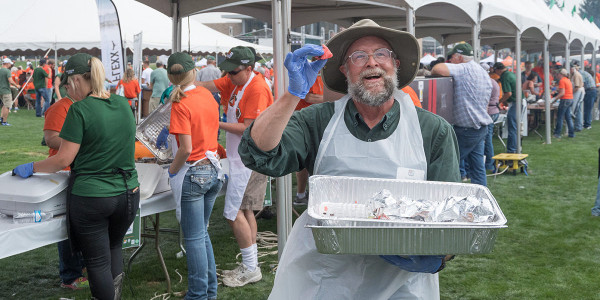 CSU's famous Ag Day is now two months away and volunteers are invited to be a part of the university's tradition of feast, football and fun. (Courtesy of CSU)