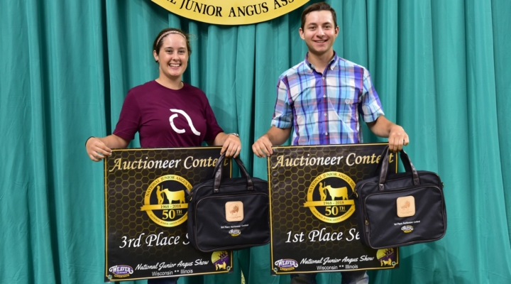 Inaugural Auctioneering Contest held at NJAS