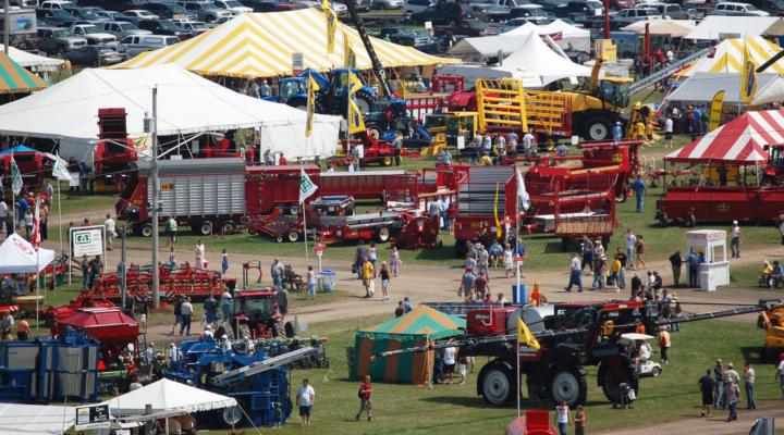 Soil health experts at Empire Farm Days