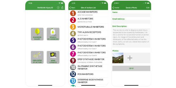 New MU app helps identify herbicide injury