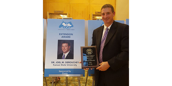 ASAS honors K-State professor