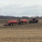 Utilizing manure as a fertilizer source can be a cost-effective way for farmers to meet crop nutrient needs, and with effective application, be environmentally sustainable. (Photo: Beth Ferry, MSU Extension)