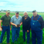 Instructors for the upcoming Soil Health Academy are (left to right: Dr. Allen Williams, Gabe Brown, Ray Archuleta and Dave Brandt. They are widely considered to be among the most preeminent pioneers, innovators and advocates in today's soil health and regenerative agricultural movement. (Soil Health Consultants photo.)