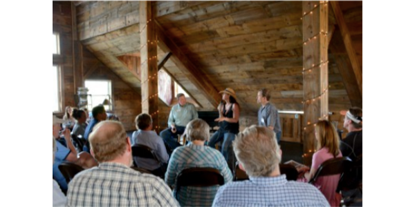 A scene from the 2017 Common Ground event at Soulful Prairies Farm in Woodstock. (Courtesy of The Land Conservancy of McHenry County)