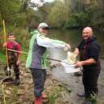 Volunteers have been working with the Van Buren Conservation District (VBCD) and Two Rivers Coalition (TRC) to collect insects and evaluate streams throughout Van Buren County. (Courtesy of Van Buren Conservation District)