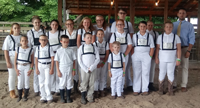 2018 Allegany Co. Fair Youth Dairy Show results